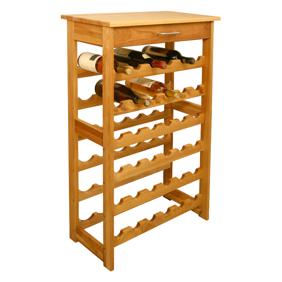 All-Wood Wine Rack - Catskill Model 7237