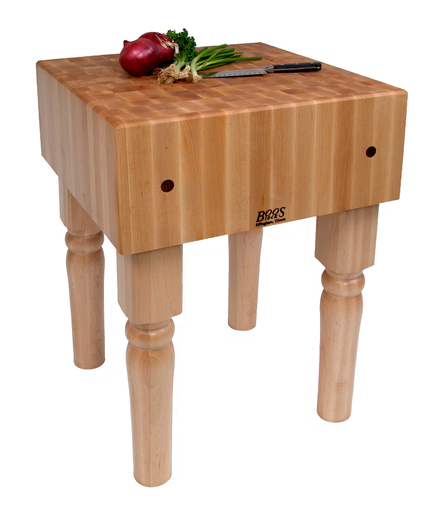 Traditional John Boos Ab Block 10 Maple Butcher In 5 Sizes