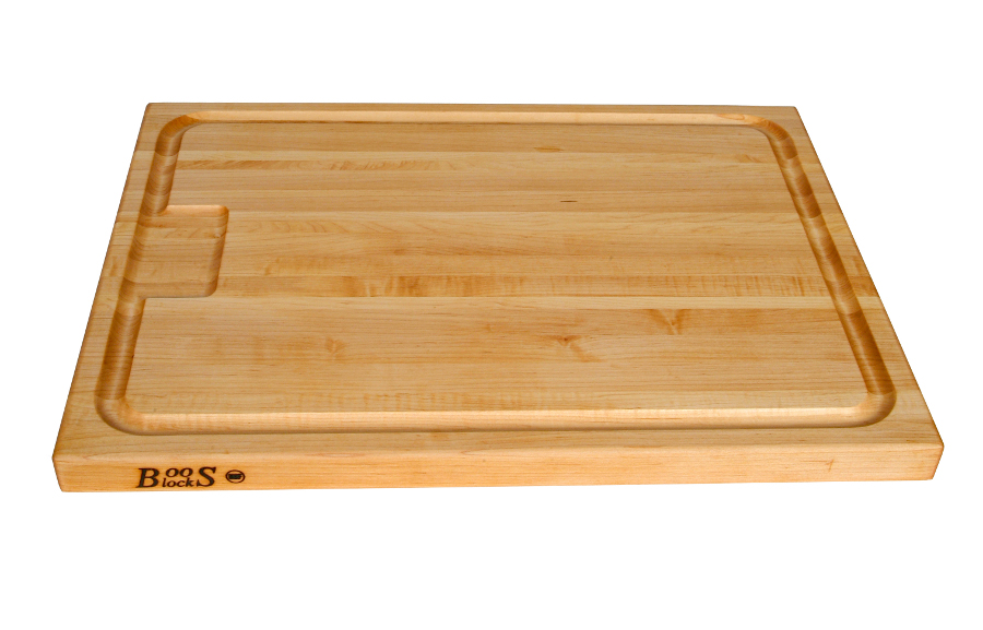 John Boos Maple Cutting Board w Juice Groove