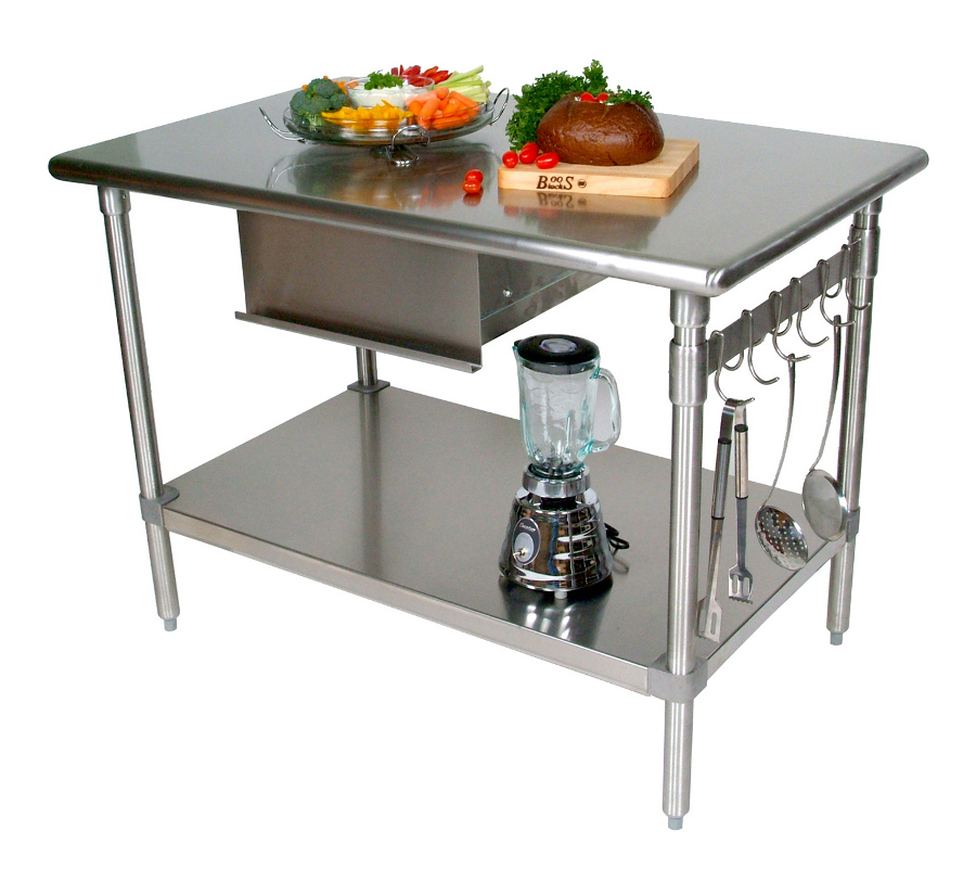 Cucina Forte Stainless Steel Work Station by John Boos