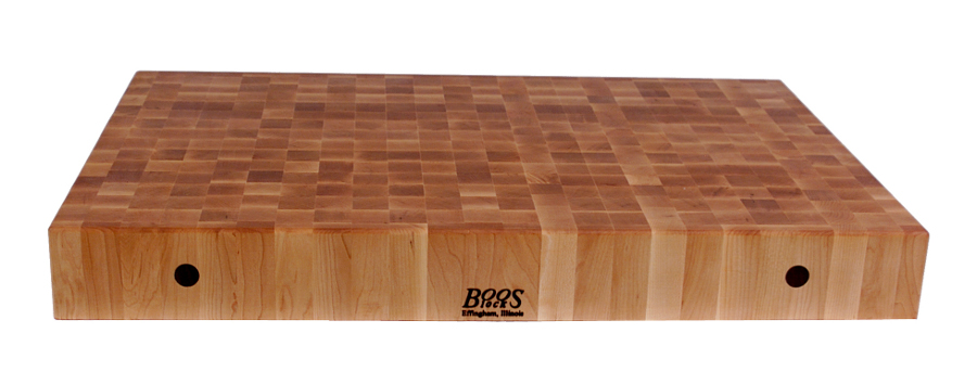 John Boos Rectangular Maple Chinese Chopping Block CCB3024, CCB3624, CCB4824