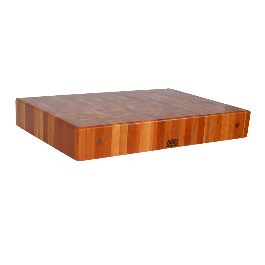 John Boos cherry end grain butcher block island tops 32 inches wide 7 inches thick