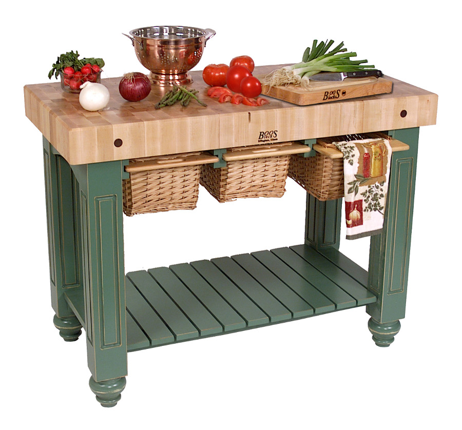 Kitchen Island 48 Inch butcher block kitchen island | john boos islands