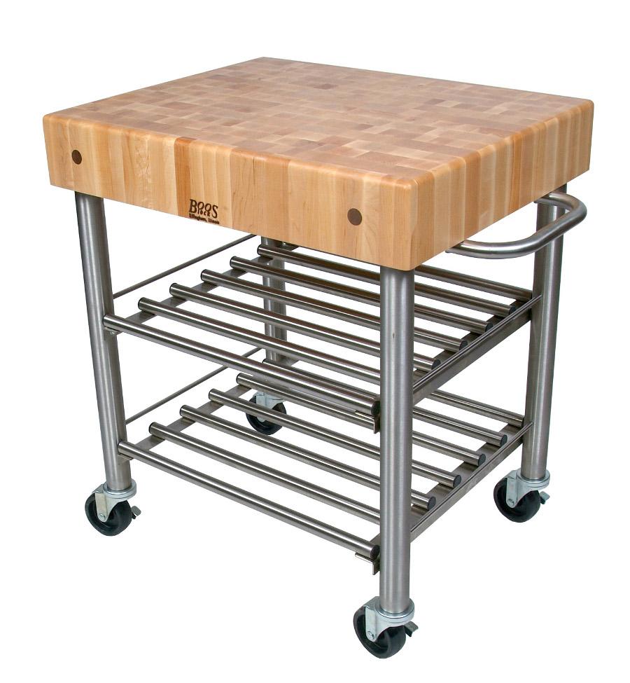 John Boos Butcher Block Kitchen Carts
