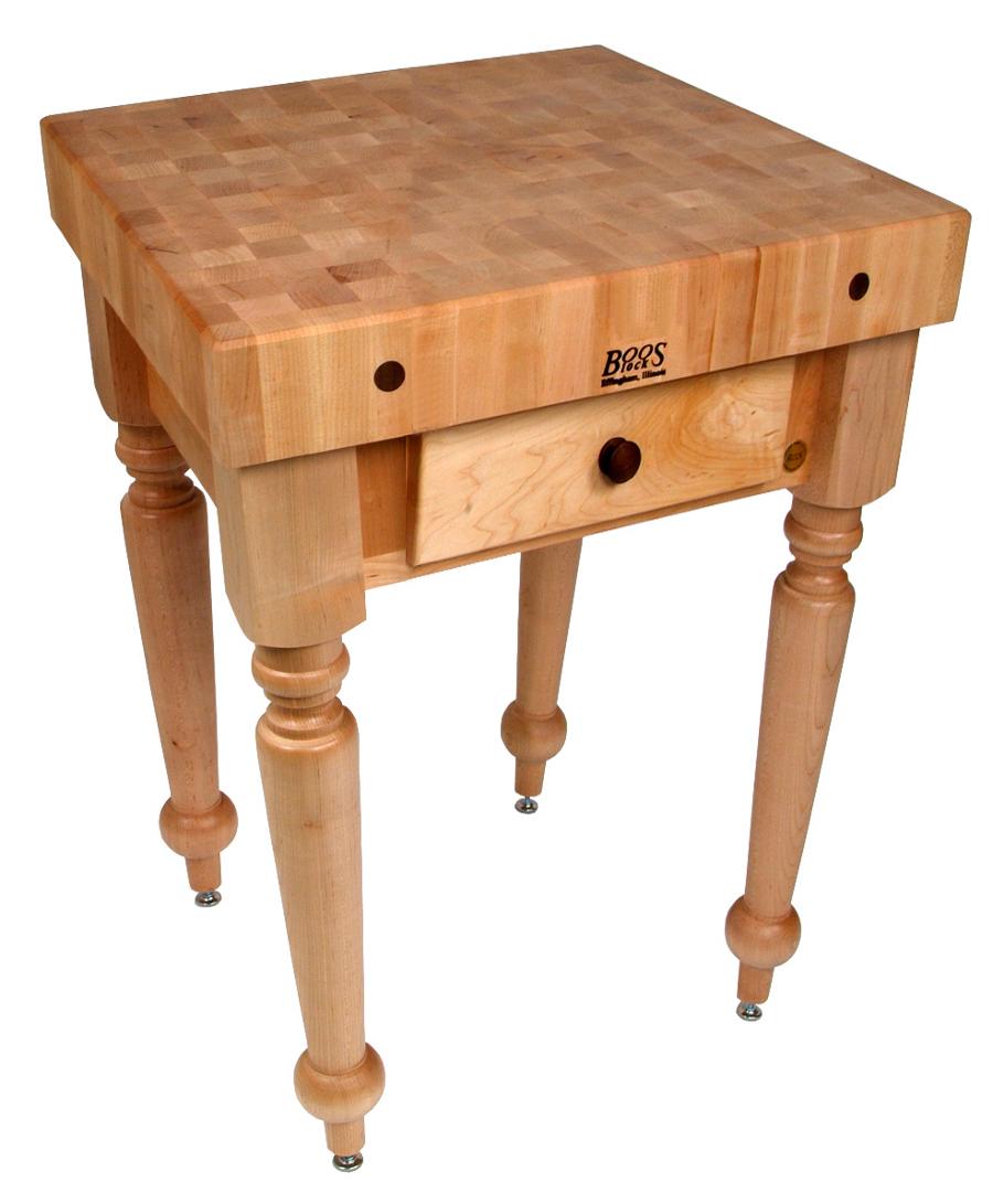 ... Butcher Block Table 48 · John Boos Cucina Rustica CUCR04 30