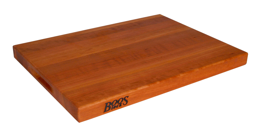 Boos Reversible Cherry Cutting Board w/ Grips - 18x12, 20x15, 24x18