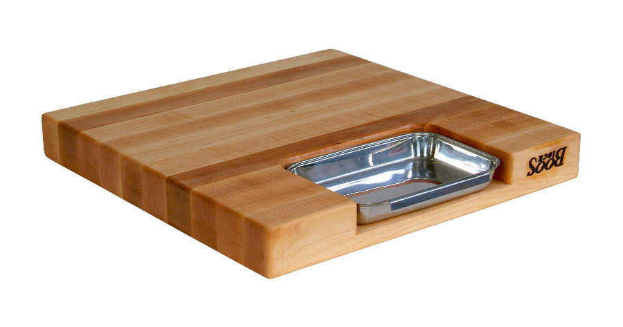 Boos Reversible Cutting Board PM18180225-P with Sloped Groove