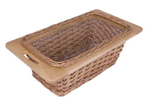 wicker basket for boos tables