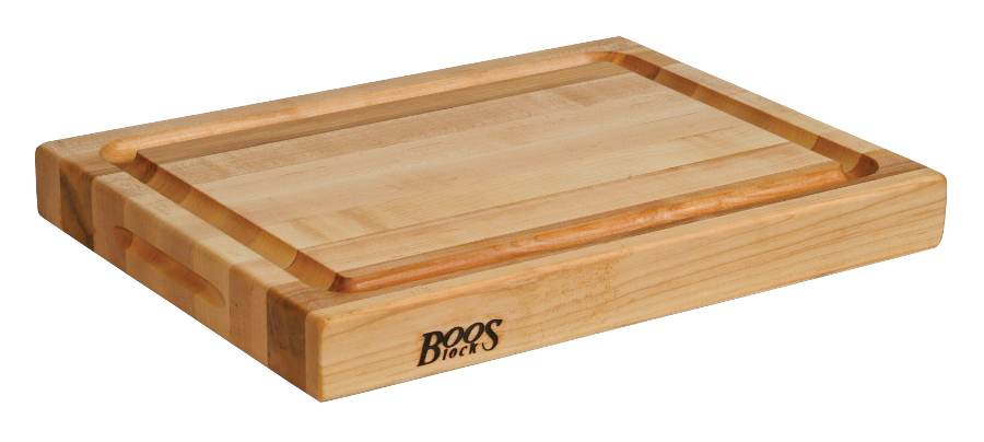 John Boos Reversible Maple Grooved Cutting Board RA02-GRV