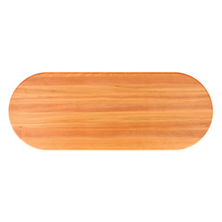 John Boos Oval Cherry Edge Grain Butcher Block Table Tops & Bases