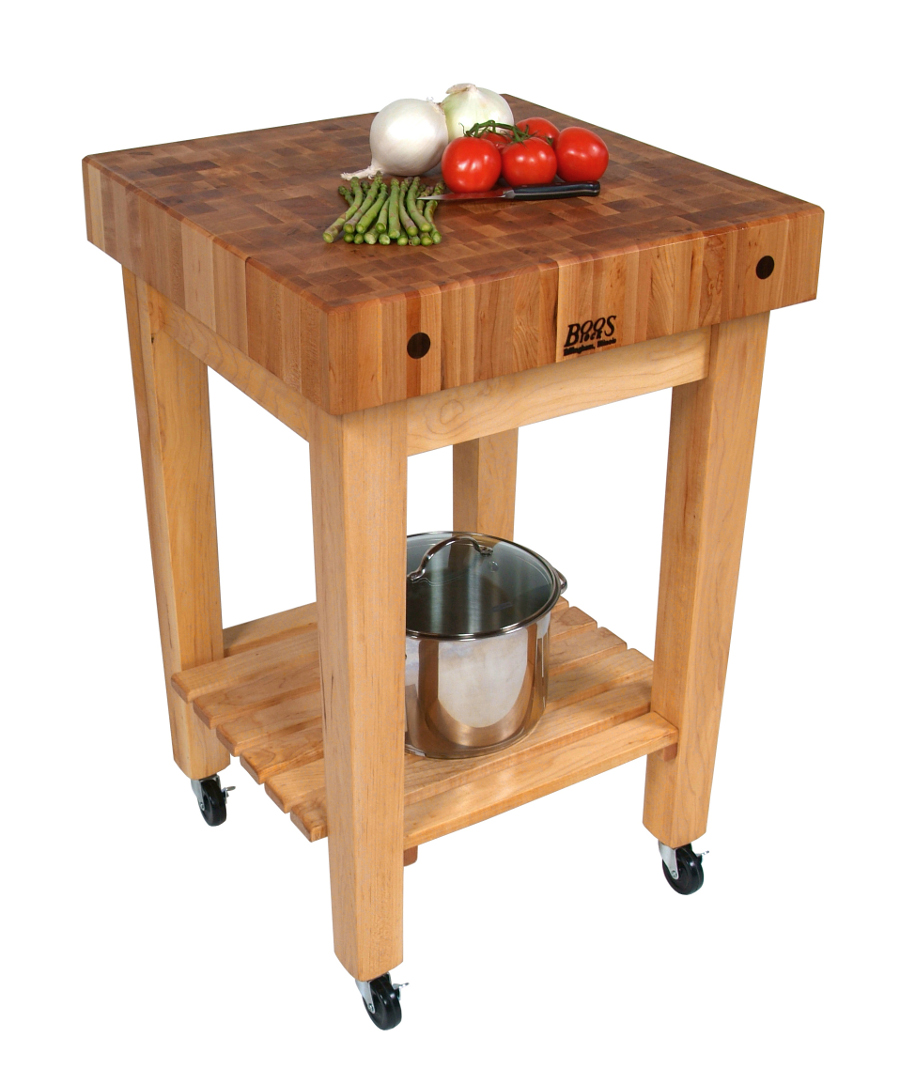 John Boos Gourmet Butcher Block Cart Model GB-C