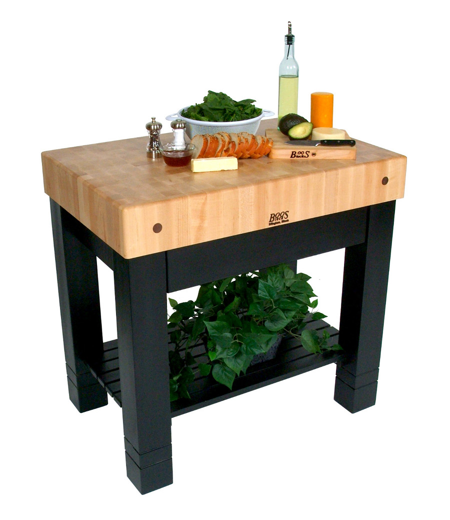 john boos butcher block table kitchen tables