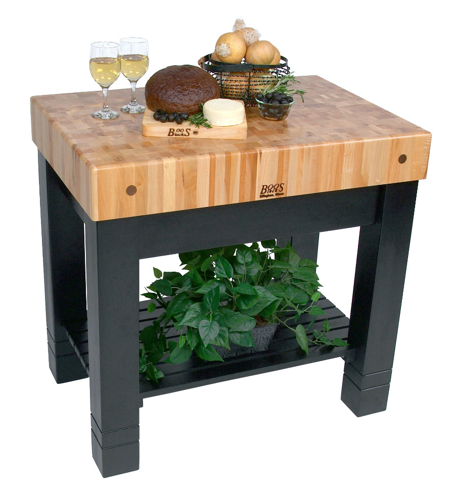 Butcher Block by John Boos with black base