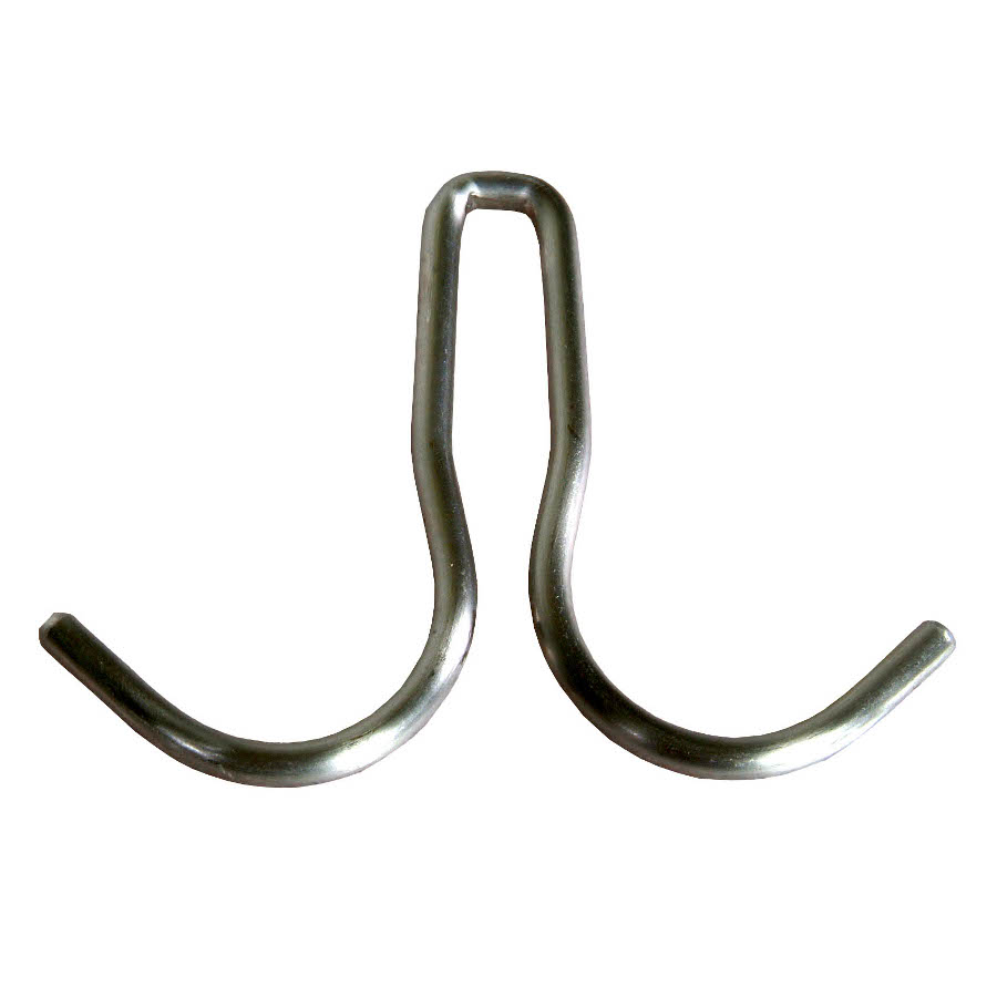 Stainless Steel Double-Prong Pot Hook for John Boos Pot Racks