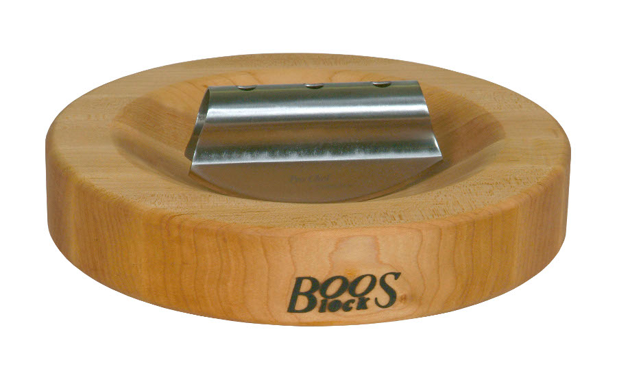 Herb Cutting Board and Rocker Knife by John Boos HB13-R-G-RK