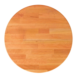 John Boos Round Blended Cherry Dining Table Tops & Bases