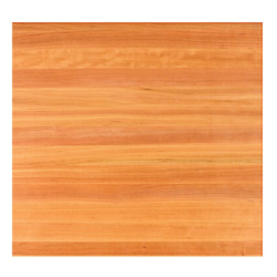 John Boos Square Cherry Edge-Grain Dining Table Tops & Bases
