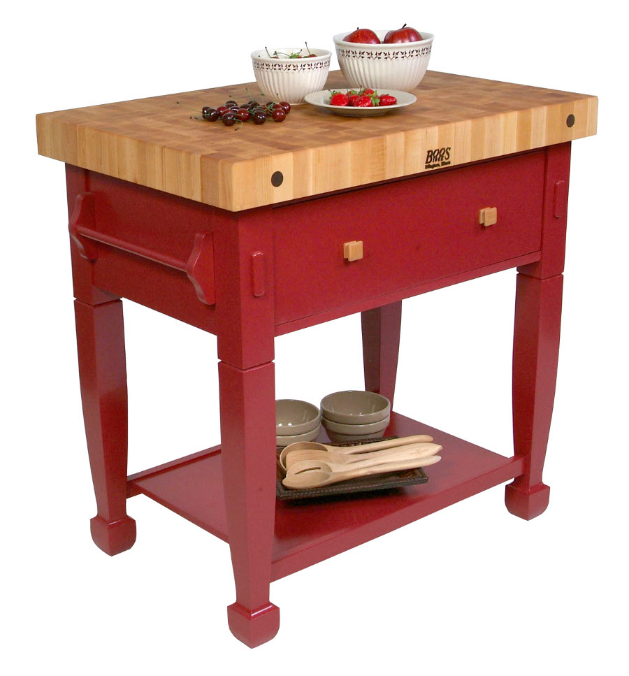 Butchers Block Kitchen Table: Boos Jasmine Block Butcher Block Table