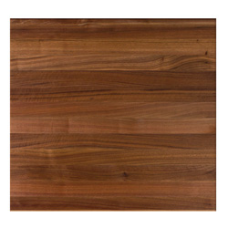 John Boos Square Walnut Edge-Grain Dining Table Tops & Bases