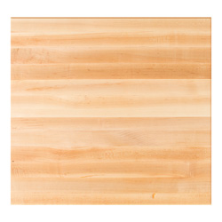 square maple dining table top - edge grain square