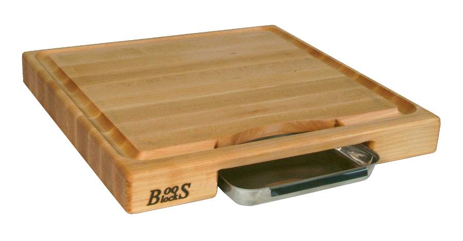 Newton Prep Master Boos Cutting Board W Gravy Pan