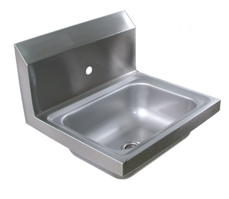 John Boos Wall Mounted Stainless Steel Hand Sink