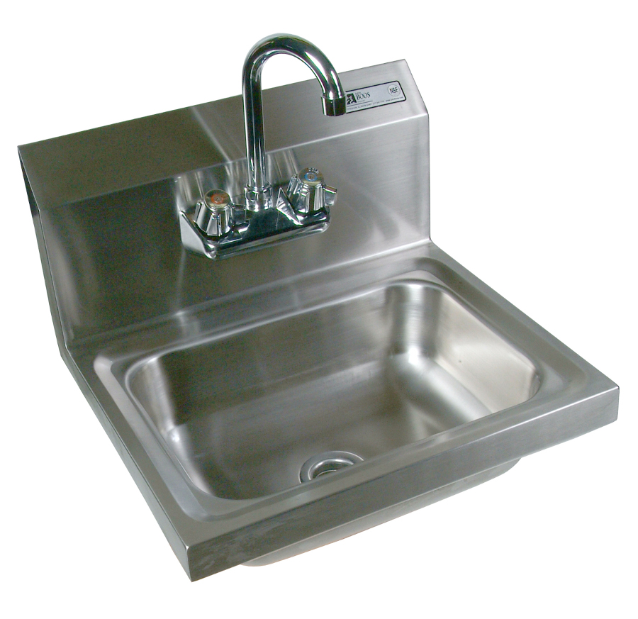 John Boos Wall Mounted Stainless Steel Hand Sink   14