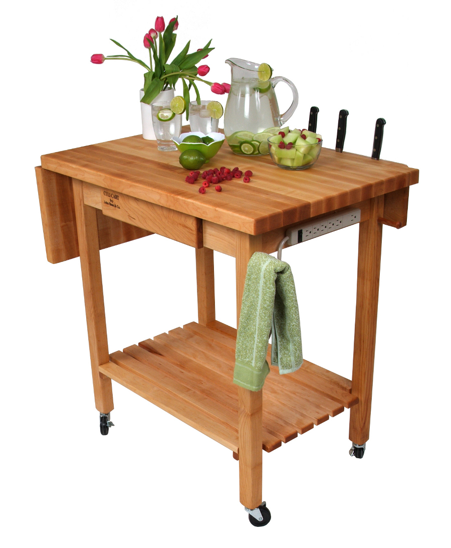 Butcher Block Cart | Butcher Block Kitchen Carts
