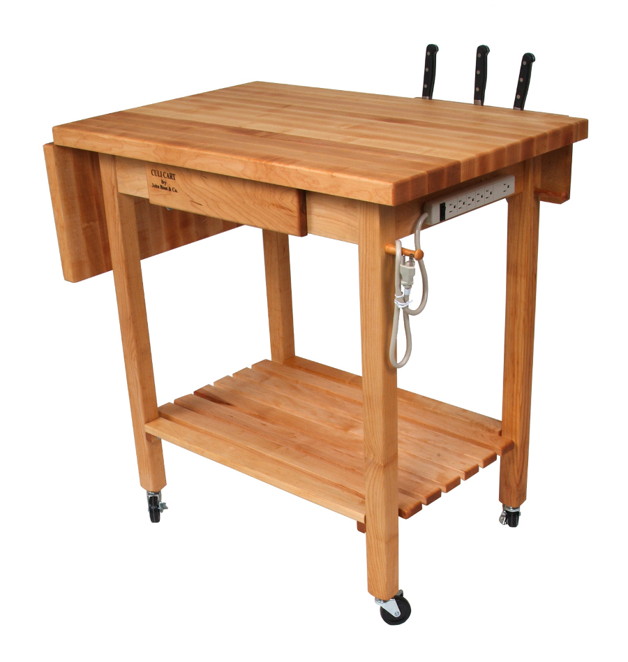 John Boos QCL Deluxe Culinary Kitchen Cart
