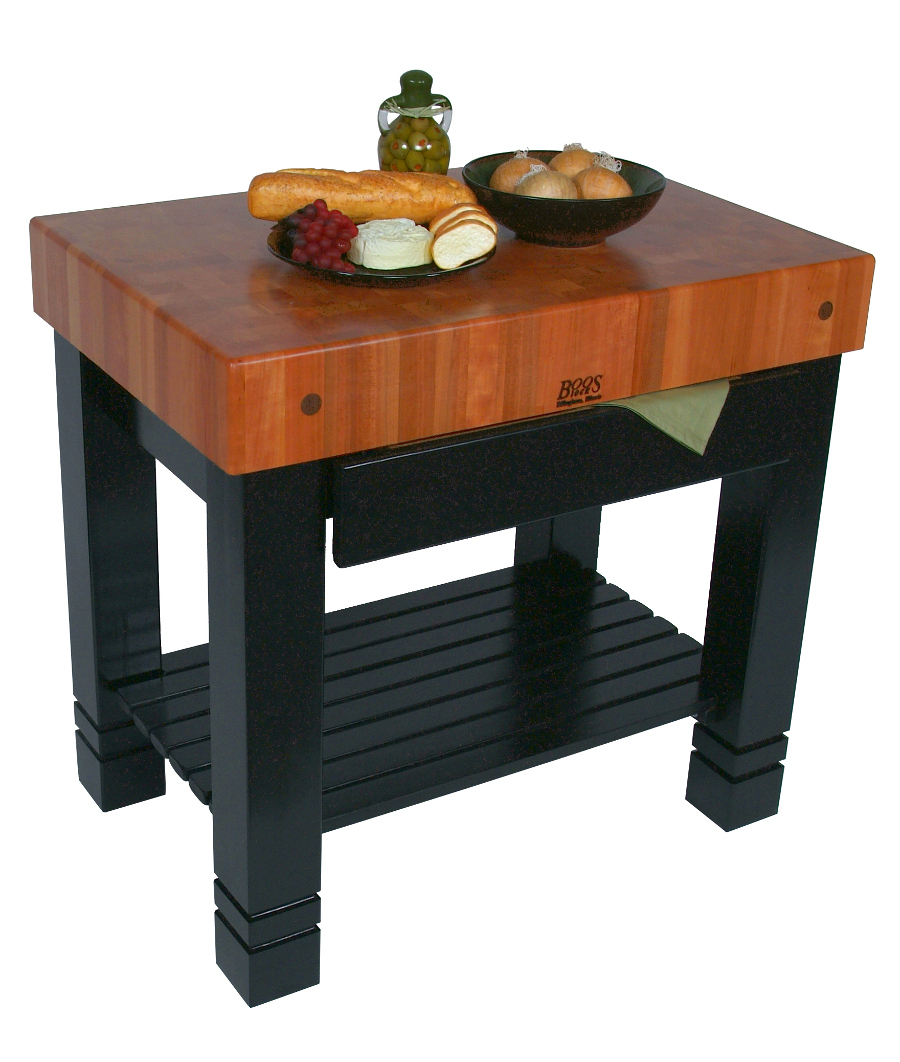 John Boos Bloc de Foyer Cherry Butcher Block