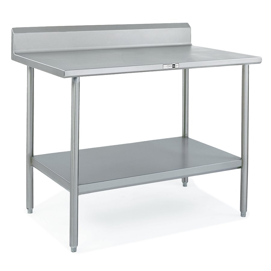 John Boos ST6R5-SSK Stainless STeel Work Table with Riser