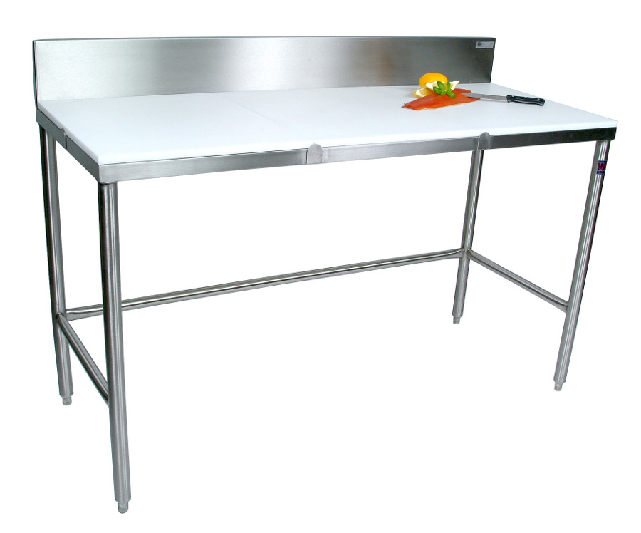 Boos S.S. Cutting Table with 3/4