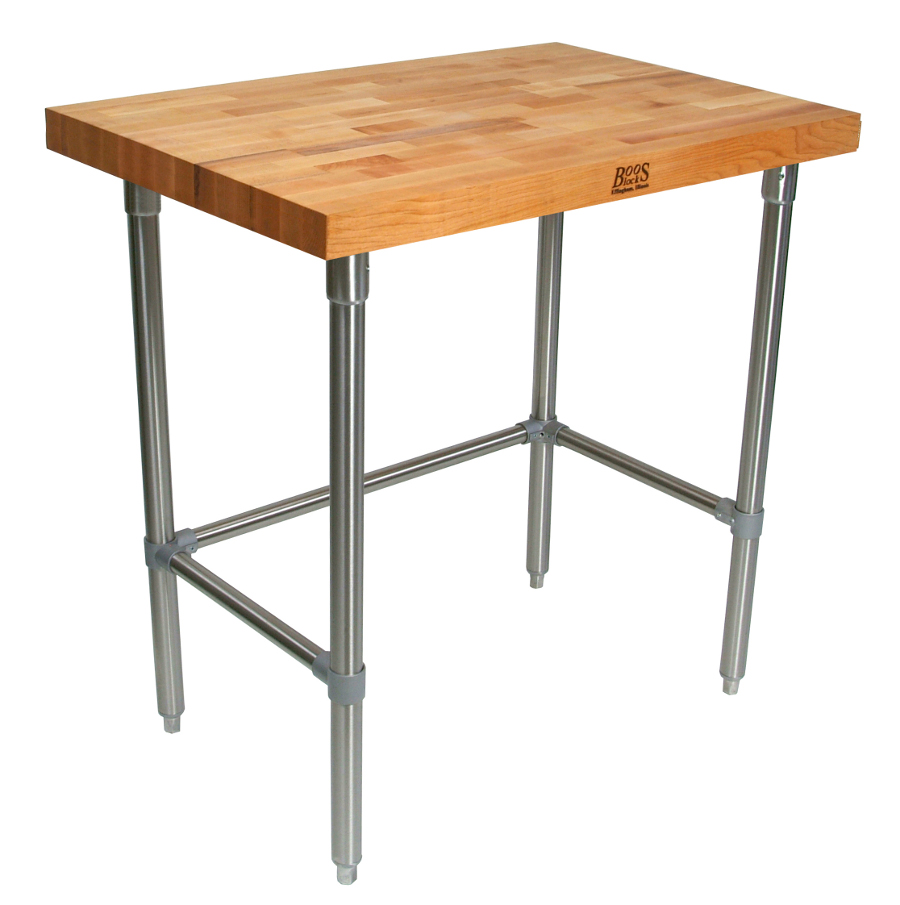 John Boos Butcher Block Table