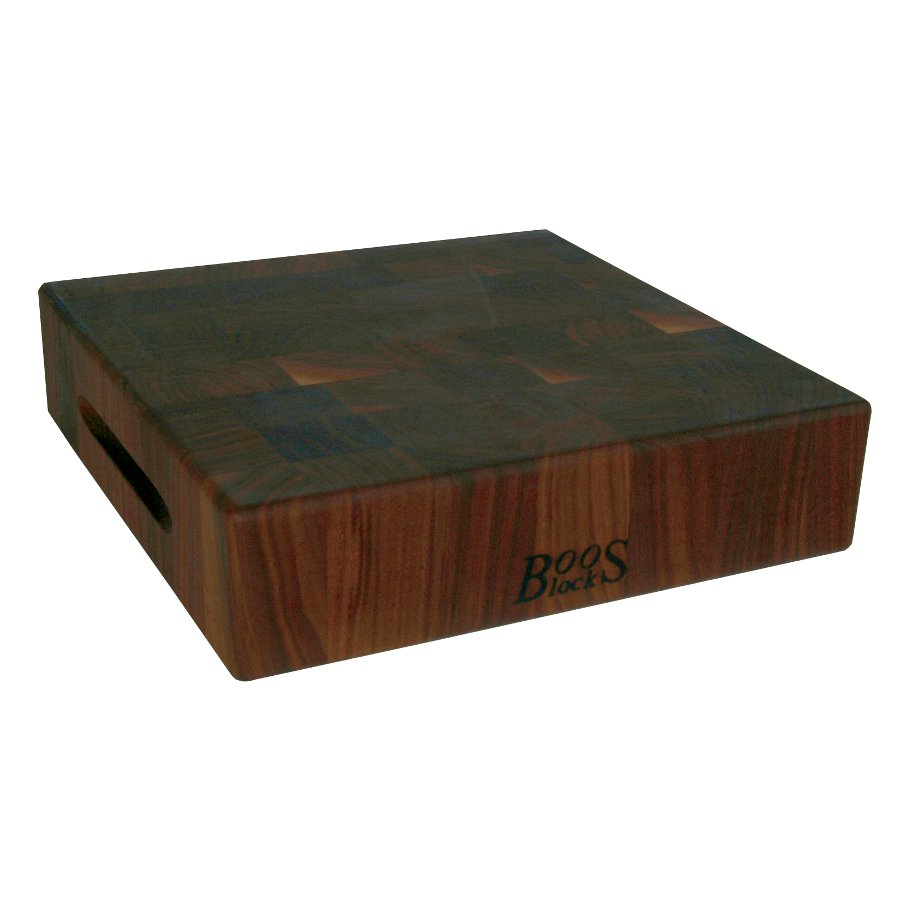 John Boos 3 in. thick Walnut End Grain Chopping Block WAL-CCB121203