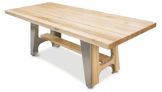 Maple Trestle Dining Table