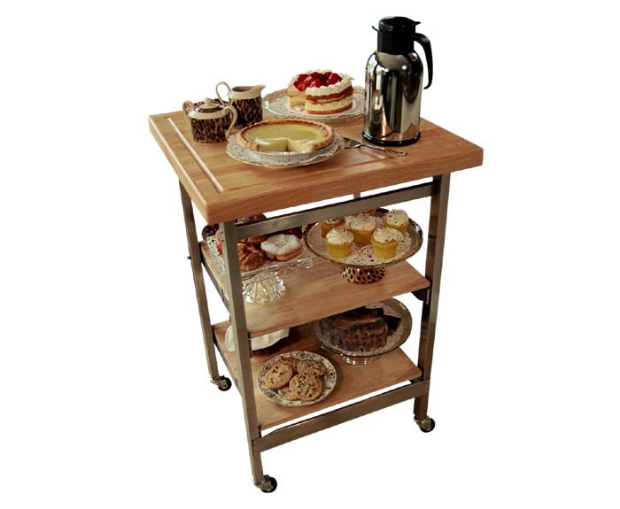 All-Purpose Folding Kitchen Cart