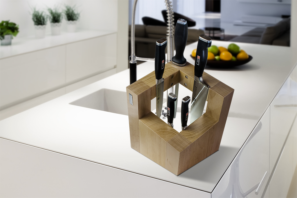 Square Magnetic Knife Block artelegno 78 Pisa