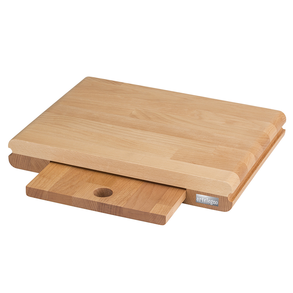 Artelegno Siena Slide-Out - A Cutting Board Inside a Cutting Board - 16