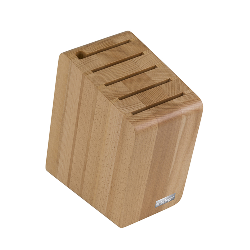 artelegno 41 Verona magnetic knife block natural