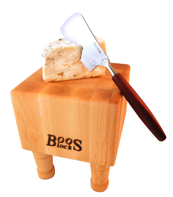 Mini Boos Butcher Block & Cheese Hatchet Gift Set - 6