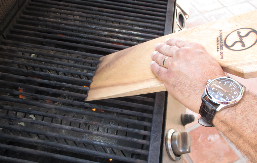 Scrapesation Barbecue Grate Scraper - Safer than Steel, 5 Tools in One!