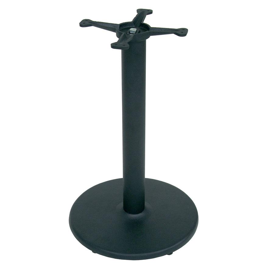 disc base for cherry edge-grain rectangular dining table tops