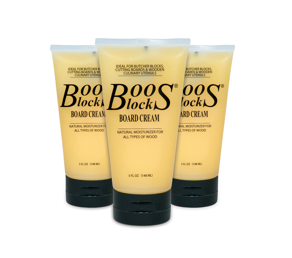 Boos Block board cream 5 oz. bottles