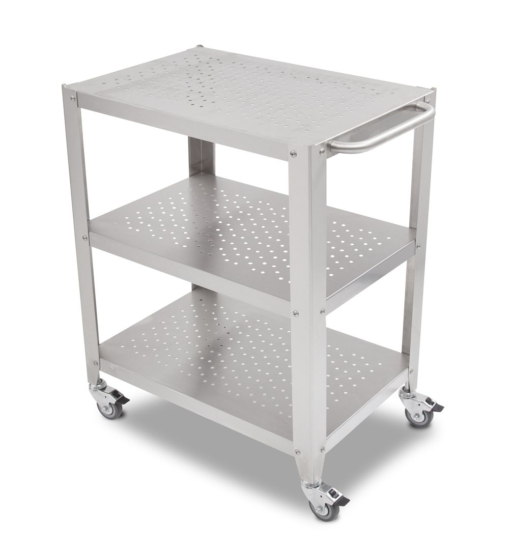 Boos Cherry Cucina Culinarte Cart – Removable Butcher Block Top