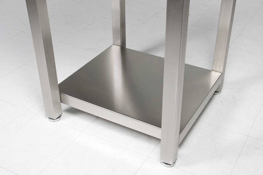 stainless steel base to Boos cucina laforza block