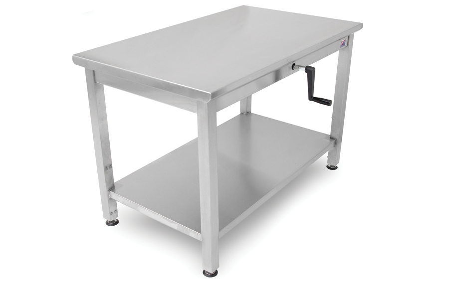 Boos Ergonomic Work Table - Hydraulic Lift Adjusts Ht. between 32-40