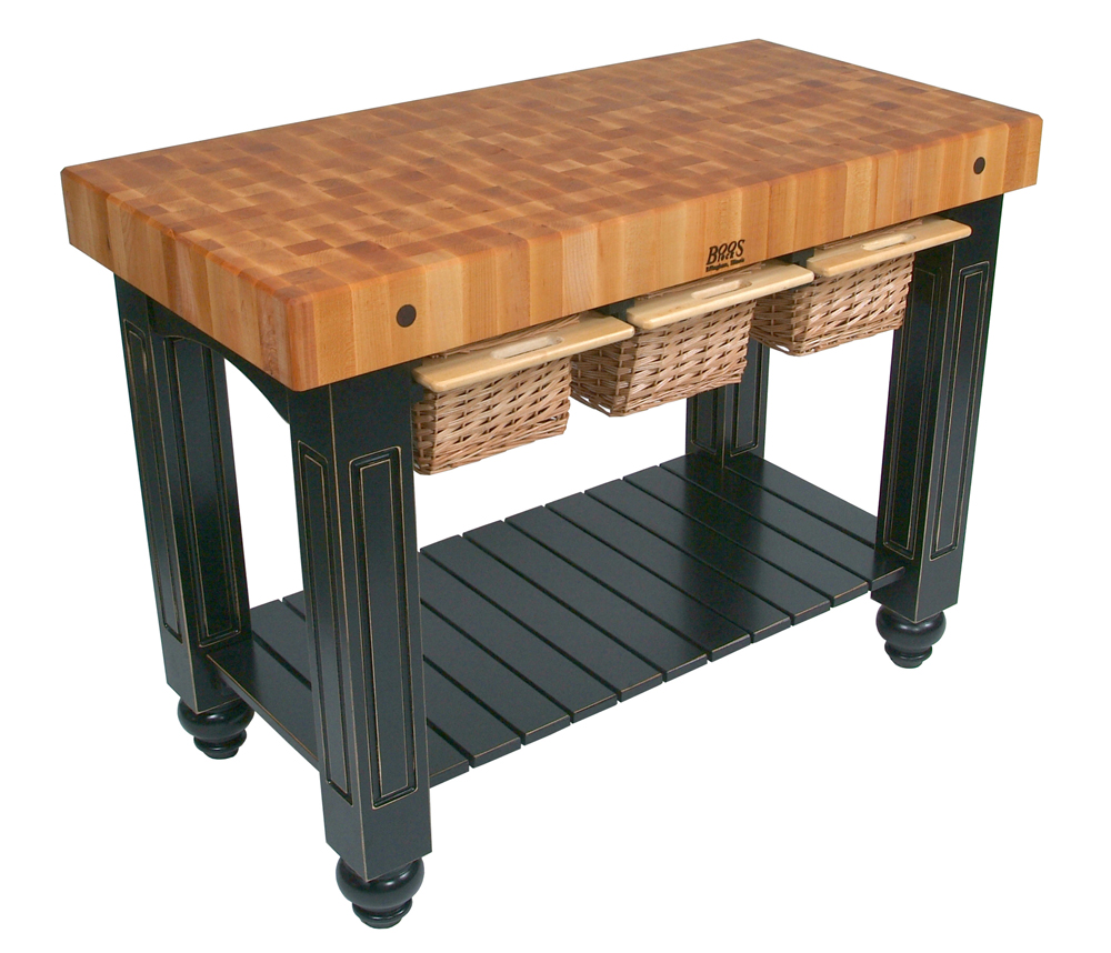 end-grain butcher block - john boos gathering