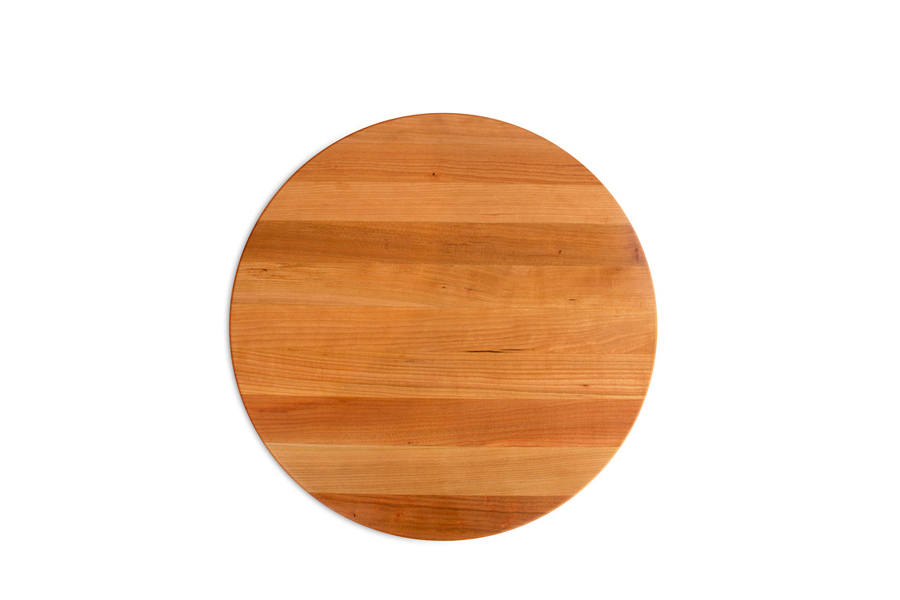 Boos reversible round cherry board