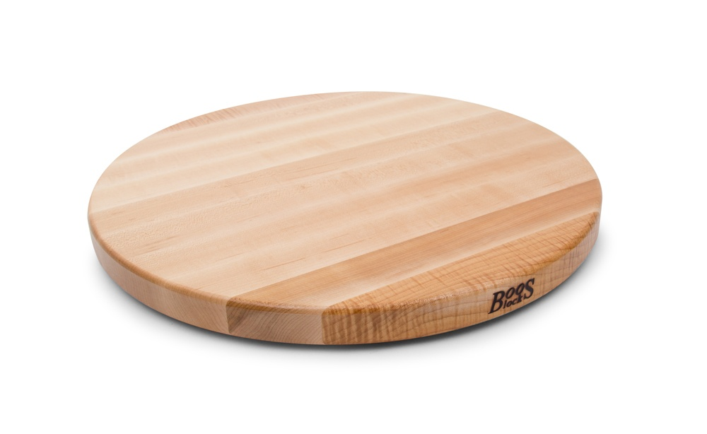 John Boos Round Maple Lazy Susan - 14