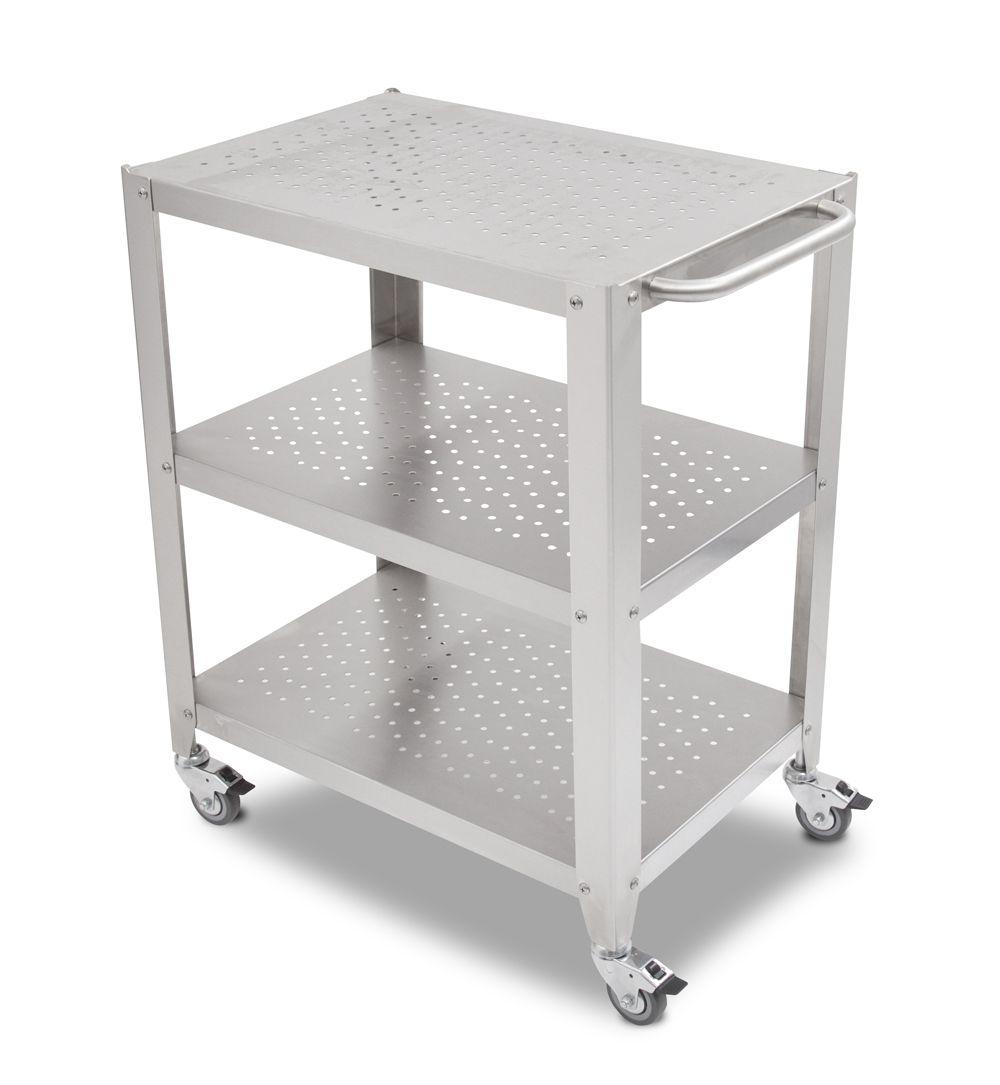 Boos Walnut Cucina Culinarte Cart – Removable Butcher Block Top